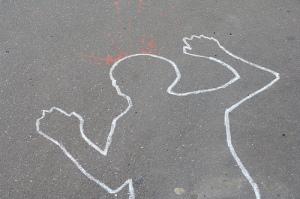 Chalk outline
